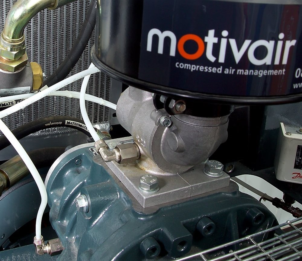 Motivair Screw Compressor Overhaul